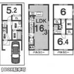①号地(建物プラン87.06㎡)(間取)