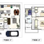 ※建築プラン:建物価格1420万円
