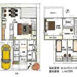 ☆建築設計プラン※建物価格1,460万円・延床面積83.02㎡(プラン変更可能です)