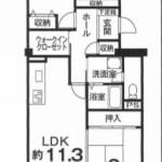 2階部分・南向き(間取)