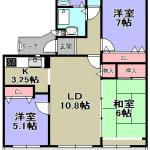 ☆最上階☆平成30年9月改装(間取)
