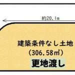 ☆角地 ☆建築条件無売土地(間取)