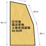②号地-土地図面
