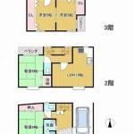 平成30年10月:キッチン取替え・クロス前面張替(間取)