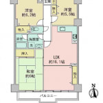 ☆7階建て7階部分(間取)