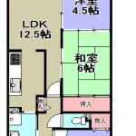 ☆東向き:5階(間取)